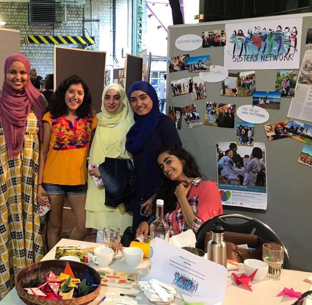 Wir waren mit einem Stand auf dem Forum Flüchtlingshilfe vertreten.